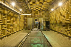 anechoic wind tunnel of ECL